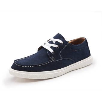 Fashion Leisure Flat Shoe (Blue)