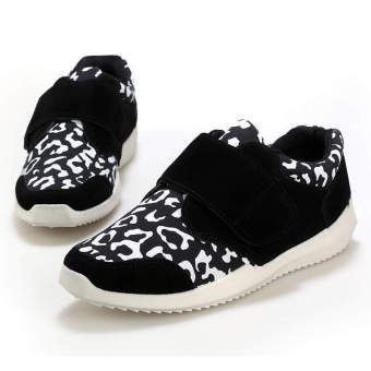 Fashion Leisure Low Cut Sneakers-Black