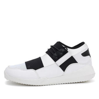Fashion Men Low Cut Sneakers-White - picture 2
