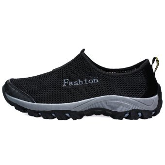 Fashion Men Shoes Low Cut Sneakers - Black - picture 2