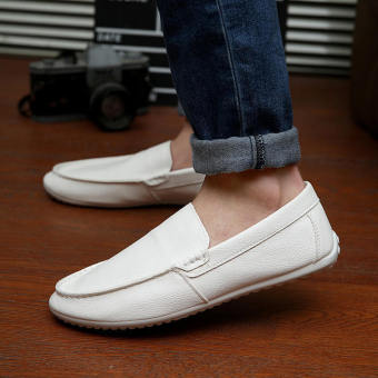 Fashion New Simple Loafers - White - picture 2