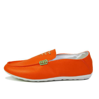 Fashion New Soft Loafers (Orange) - picture 2