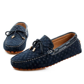 Fashion New Soft Men Loafers (Blue) - picture 4