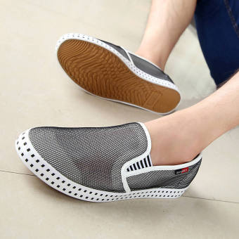Fashion Simple Breathable Loafers -Black