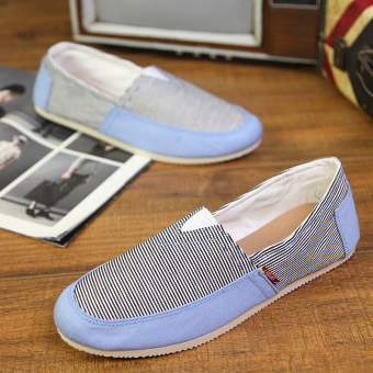 Fashion Simple Convenience Loafers - Blue - picture 2