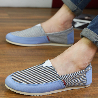 Fashion Simple Convenience Loafers - Blue - picture 3