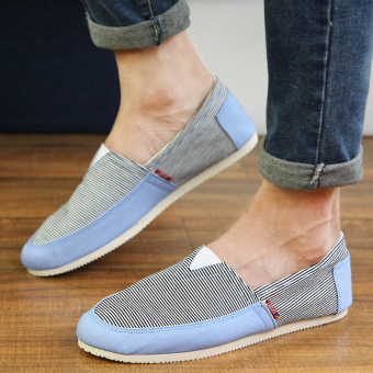 Fashion Simple Convenience Loafers - Blue - picture 4