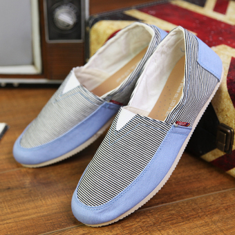 Fashion Simple Convenience Loafers - Blue