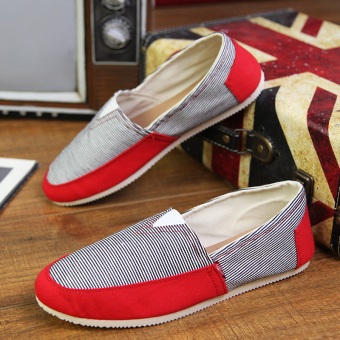 Fashion Simple Convenience Loafers - Red - picture 2