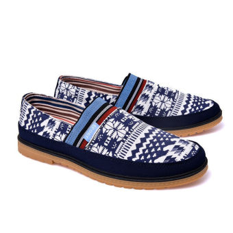 Fashion Simple New Loafers (Blue) - picture 3