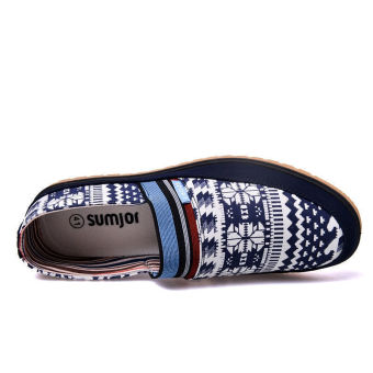 Fashion Simple New Loafers (Blue) - picture 4