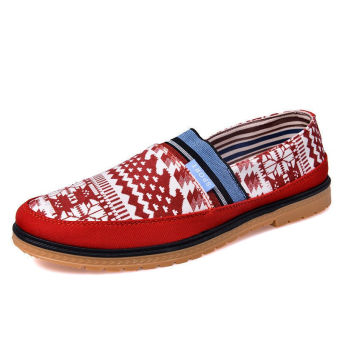 Fashion Simple New Loafers (Red)