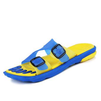 Fashion Sporty Sandals- Yellow