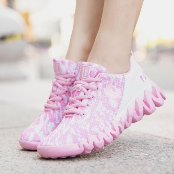 Fashion Sweet Lover Running Shoes All-purpose Delightful ColorBreathable Sport Shoes Soft Comfortable Walking Shoes for Women(pink) - intl - 5