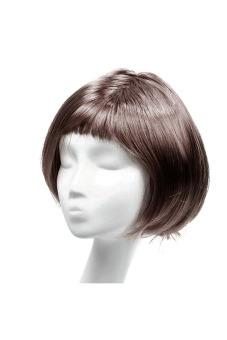 Fashion Synthetic Fiber BOBO Wig (Coffee) - picture 2