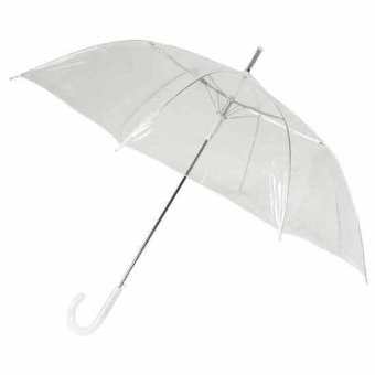 Fashion Transparent Clear Rain Umbrella Price Philippines