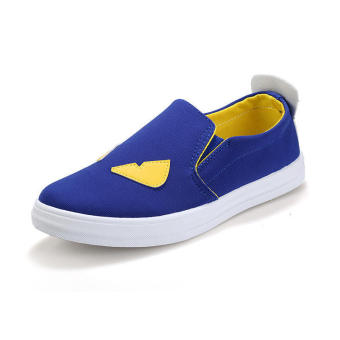 Fashion Women Loafers -Blue