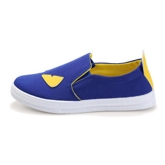 Fashion Women Loafers -Blue - picture 2