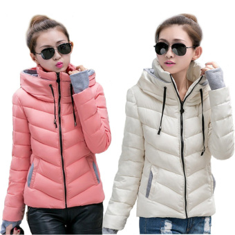 Fashion Women Warm Winter Thicken Coat Hooded Overcoat Long Jacket Outwear (Black) - 3
