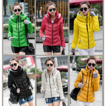 Fashion Women Warm Winter Thicken Coat Hooded Overcoat Long Jacket Outwear (Black) - 2