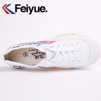 Feiyue Retro Classic Running Shoes (White) - intl - 3
