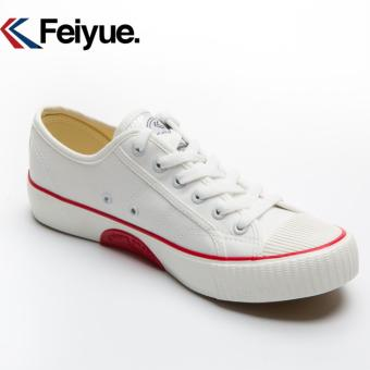 Feiyue shoes canvas shoes restoring ancient ways Low classic for men's and women's shoes(White) - intl - 2