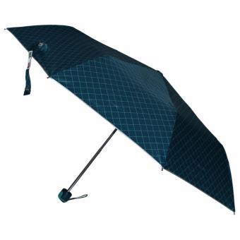 Fibrella Umbrella F00412 with UV Block Plus (Diagonal Green SquareDesign) ...