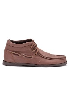 Finch Brick Mid-Cut Shoes (Dark Brown) - picture 2