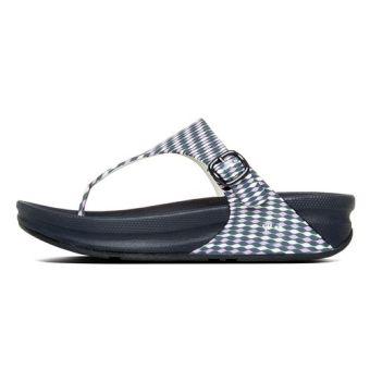 Fitflop Women's Superjelly Weave Slippers (Dusty Lilac) - 2