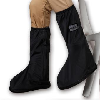 Foldable Waterproof Flood Proof Rain Shoe Cover for Men - 4