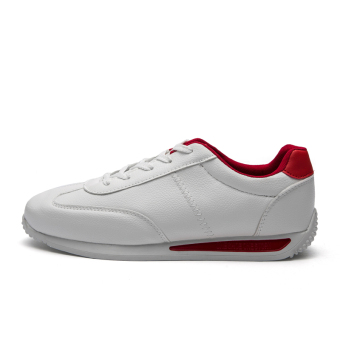 Forrest Gump Korean-style student running shoes men's shoes (1702 Bai Hong)