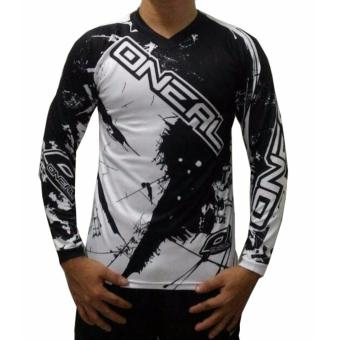 Fortress Cycling Mountain Bike Long Sleeve Jersey (ONEALMTB#4)