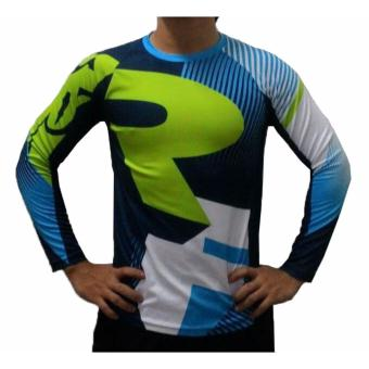 Fortress Cycling Mountain Bike Motocross Motorcycle/MTB Long SleeveJersey (RF1)