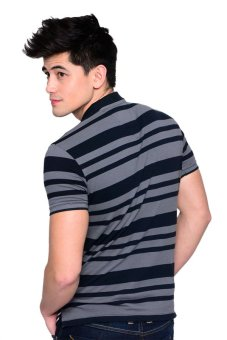 Freego Slim Fit Polotees (Total Eclipse) - 3