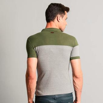 Fubu Muscle Fit Polo Shirt FBT05B-092 (Fatigue) - 3