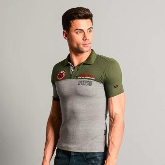 Fubu Muscle Fit Polo Shirt FBT05B-092 (Fatigue) - 2