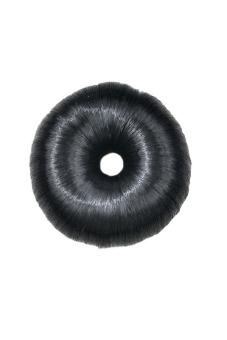 Functional Synthetic Fiber Hair Bun (Black)