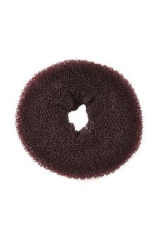 Functional Synthetic Fiber Hair Bun (Brown)