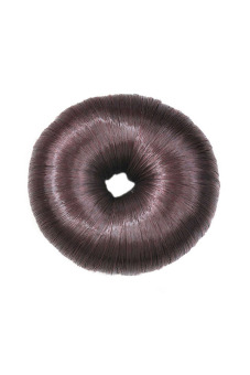 Functional Synthetic Fiber Hair Bun (Dark brown)