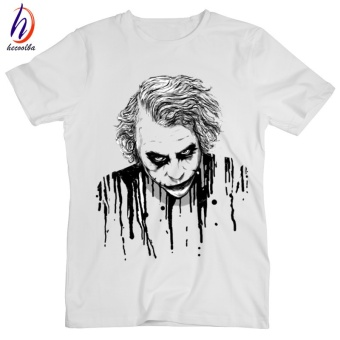 Funny JOKER Mens T Shirt Style Printed Fashion Hip Hop Diy WhiteTees #1 - intl Price Philippines