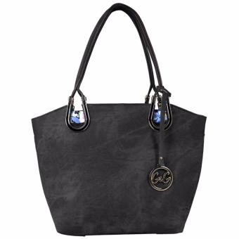 G&G Tote Shoulder Bag (BLACK)