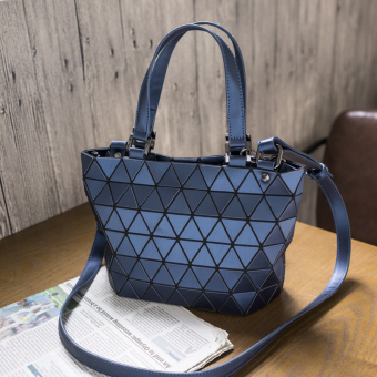 Geometric bao lei radio women's bag New style bag (Sapphire Blue small) (Sapphire Blue small)