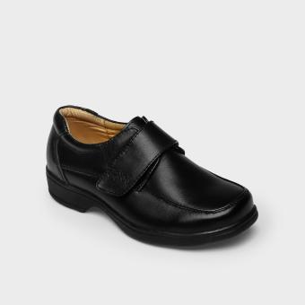 Gibi Boys HC4504 Monkstrap School Shoes (Black)