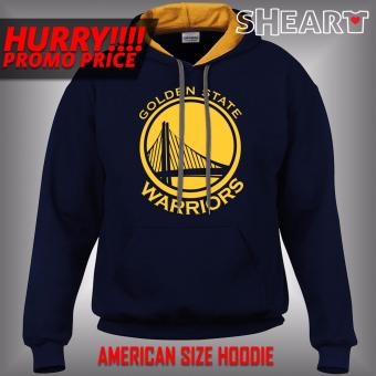 Gildan Brand Contrast Hoodie Golden State Warriors (Navy/Gold)