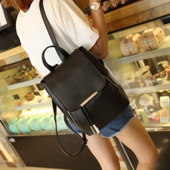 GOOD New Women Girls Backpack Fashion Shoulder Bag Rucksack PU Leather Travel bag - 4