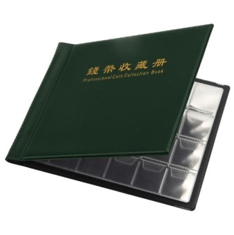 Good Service 240 Coin Collection Holders Storage Collecting Money Penny Pockets Album Book - intl - 3
