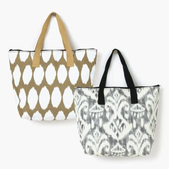 Grab Ladies Tamia And Taly Tote Bags 4 (Set Of 2)