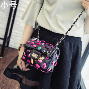 Graceful European and American scarf chain bag women's bag (Small)