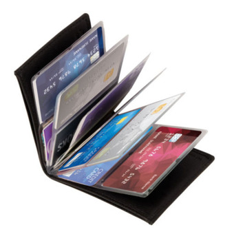 Gracefulvara Unisex 24 Cards Wonder Wallet Amazing Slim RFIDWallets - intl
