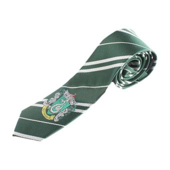 Gryffindor Slytherin Hufflepuff Ravenclaw Necktie Silk Tie GreenColor - intl - 2